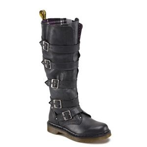Dr. Martens Women's Phina Boot Tall real leather